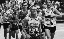 course à pied ou jogging pour marathon en anglais