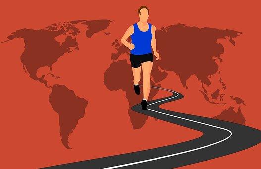 course à pied dictionnaire : footing respiration – Copy