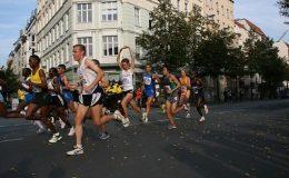 comment écrire course à pied et marathon londres